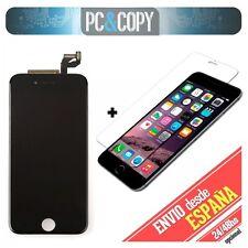 Pantalla completa LCD RETINA+Tactil iPhone 6S 4,7 negra+cristal templado Calidad