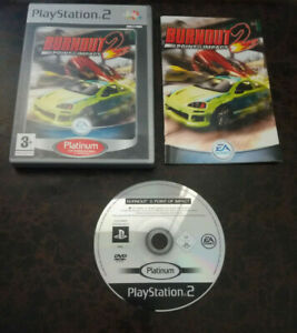 Burnout 2 Point Of Impact  - PS2 / Playstation 2 - Complet - FR - Proche du Neuf