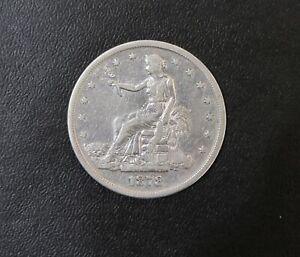 1878 S United States Trade Dollar