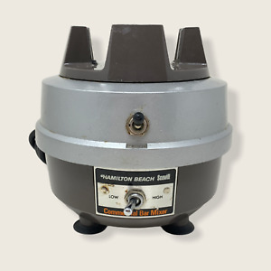 Hamilton Beach 908 Commercial Bar Mixer Base Stainless Steel Plug In 120 V