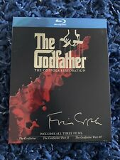 New ListingThe Godfather Collection (The Coppola Restoration) (Blu-ray Disc, 4-Disc Set '08