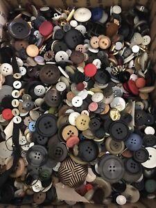10 Pounds Vintage Buttons Lot #2
