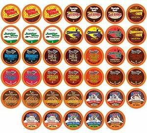 Two Rivers Hot Cocoa Sampler Pack Single Cup for Keurig K cup Brewers 40 Count