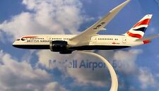 Herpa Wings 1:200 snap fit boeing 787-8 british airways G-zbjb 609838
