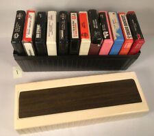 8 Track Case with 12 Tapes (#1), Vintage