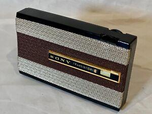 SONY TR-810 VINTAGE & RARE 1959 TRANSISTOR RADIO FOR PARTS OF RESTORATION