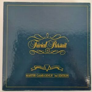 Trivial Pursuit Master Game-Genus 3rd Edition Board Game E36