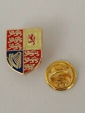 Queen's Royal Cypher Standard Flag Military MOD Licensed lapel pin badges