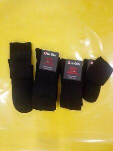 Diabetiker Socken, Gesundheitssocken, Damen, Herren, 4er Pack.