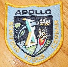 VINTAGE 1960'S-70S NEW NASA  APOLLO 10 PATCH STAFFORD YOUNG CERNAN LUNAR MISSION