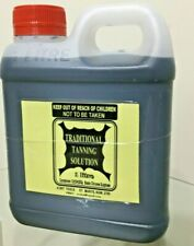 Tanning solution, 1 litre for leather, Taxidermy , animal hide, skin