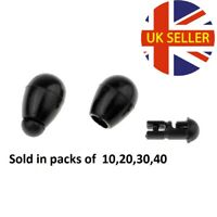 BLACK QUICK CHANGE BEADS CARP,BARBEL FEEDER FISHING TACKLE UK SELLER POST FREE