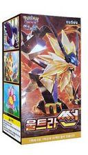 "Pokemon cards Sun & Moon ""Ultra Sun"" Booster Box (30 pack) / Korean Ver"