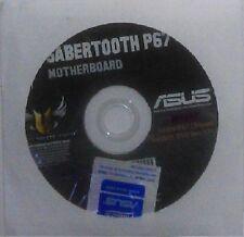 original Treiber Asus Sabertooth P67 CD DVD OVP NEU Windows XP Vista Win 7 Stick