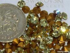 36 x Swarovski 19ss JONQUIL Gold-déjoué #1100 Chatons