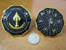 Central Intelligence Agency Special Collection Service CIA NSA Challenge Coin