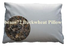 "beans72 Organic Buckwheat Pillow - Japanese size 14"" x 20"""