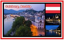 SALZBURG, AUSTRIA - SOUVENIR NOVELTY FRIDGE MAGNET - BRAND NEW - GIFT