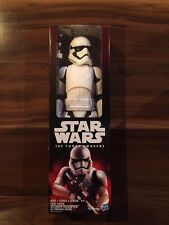 """Star Wars Force Awakens FIRST ORDER STORMTROOPER 12"""" Inch Figure New Sealed"""