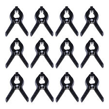 12 Packs Backdrop Spring Clamps Clips Chromakey Screen Photo Studio 5.9inch