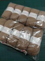 10 x soft teddy brown 428 50g balls Sirdar snuggly 4 ply baby yarn