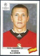 PANINI UEFA CHAMPIONS LEAGUE 1999-00- #189-REAL MADRID-BODO ILLGNER