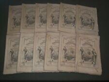 1866-1867 LADIES' REPOSITORY LITERATURE & RELIGION MAGAZINE LOT OF 12 - WR 40
