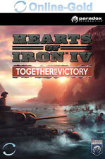Hearts of Iron IV: Together for Victory - PC DLC Addon Game Code Steam Key [EU]