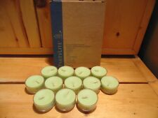 Partylite Candle Tealights Bamboo Breeze 1 Dz. V04551 New