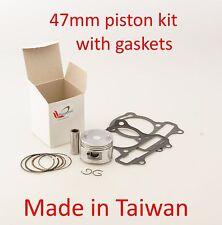 Piston kit 47MM for Eton 4 stroke Viper 90 Silver ATV RXL-9009 9KC