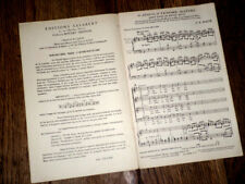 O Jésus O tendre maître extrait cantate n°147 4 voix violons ou orgue 1958 Bach