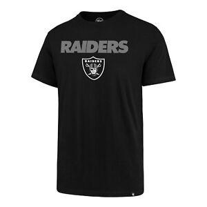 Las Vegas Raiders Men's Pregame Wordmark Logo T-Shirt - Black