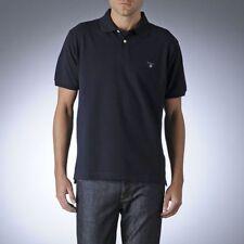 Polos de hombre en color principal azul 100% algodón