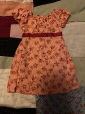 American Girl Doll Caroline Abbott's Travel Dress