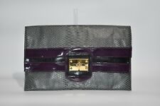 M&S Grey and Purple Evening Bag