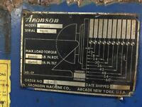 Aronson HD240A  24,000 Lb Welding Positioner