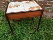 Vintage/Retro Teak No Assembly Required Side & End Tables