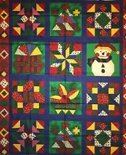 Fabri-Quilt Holiday Editions #507 Panel QUILT, SEW,  FABRIC - 1  1/4 YD