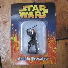 Anakin Skywalker Star Wars Deagostini Die Cast Metal Figure On Card Free UK P+P