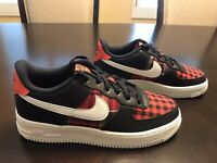 New Nike Air Force 1 Flannel Sneaker Shoes Size US 6