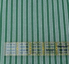 Collection of Edelin Wille Marcus Brothers BTY Green Off-White Stripe