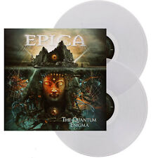 EPICA THE QUANTUM ENIGMA 2LP CLEAR VINYL 300 COPIES ONLY