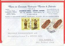 Cover Angolan Stamps