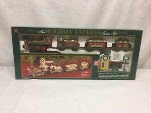 NEW BRIGHT Train Set THE HOLIDAY EXPRESS # 178 WORKING