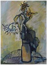 Bouquet de fleurs aux tournesols par JP Alliès