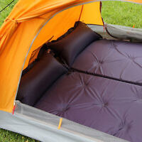 Self-Inflating Inflated Mattress Air Mat Sleeping Bag Tent Pad Camping C0W9