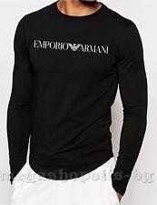 ARMANI Langarm Herren-T-Shirts aus Baumwolle