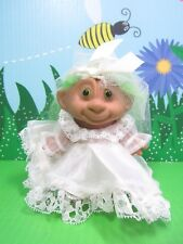 "MONKEY FACE BRIDE - 4"" Unmarked Troll - NEW - Very Rare"