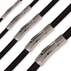 Kautschuk Kette Halskette Armband Choker Surfer 18-70 cm / 2, 3, 4, 5, 6 mm