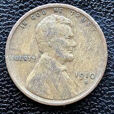 1910 S Wheat Penny Lincoln Cent 1c Rare San Francisco Better Grade #18841